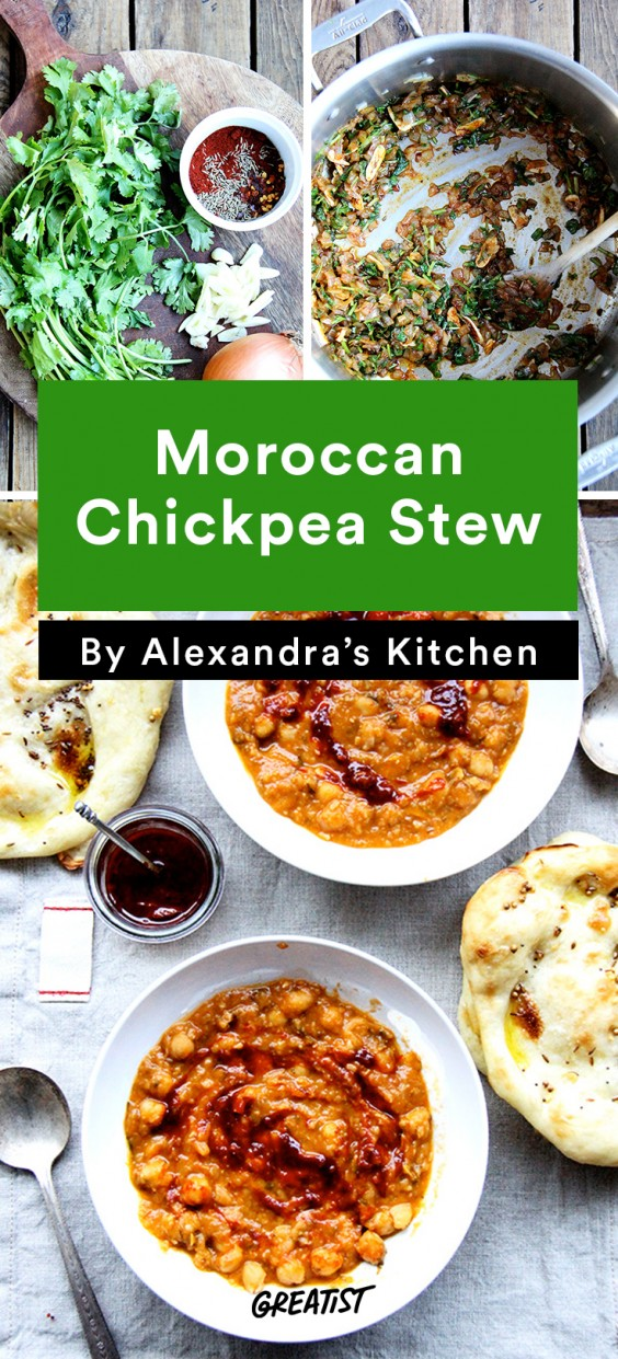 alexandra's kitchen: Moroccan Chickpea Stew