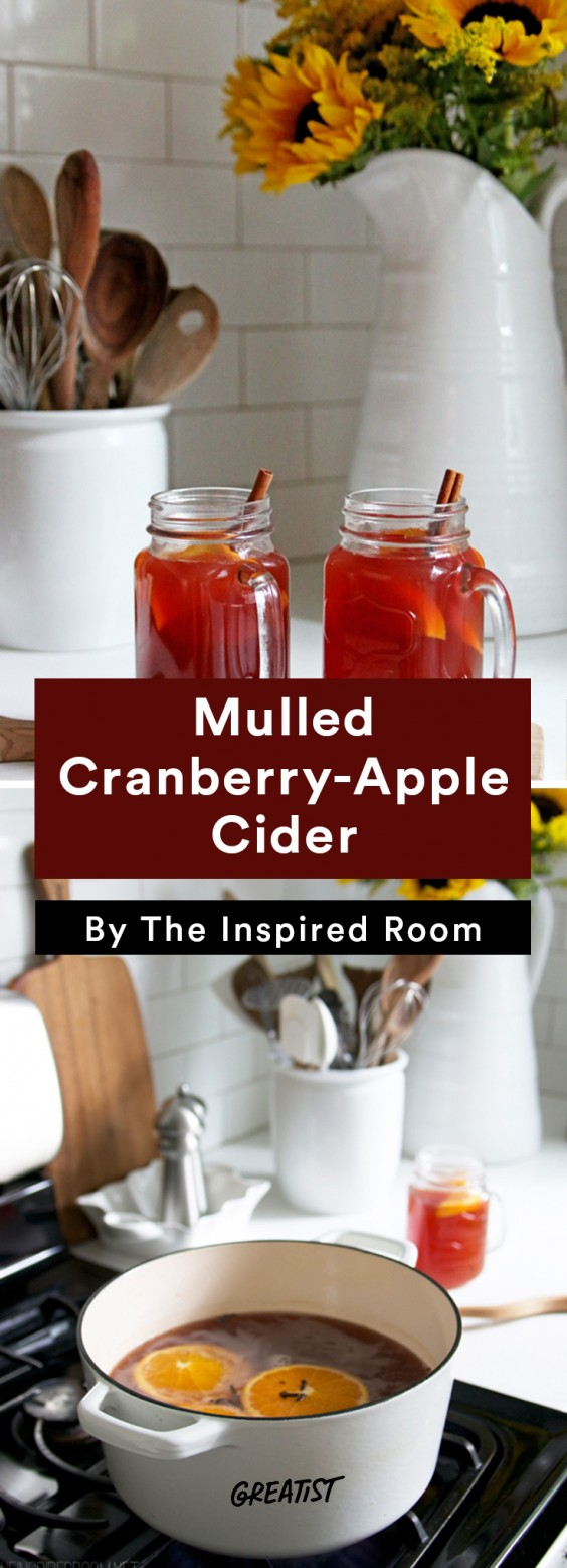 Not PSL: cranberry cider