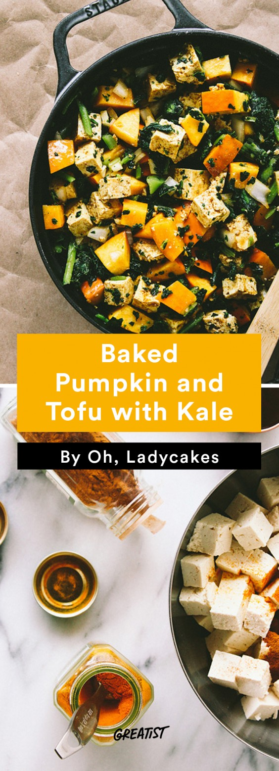 Fall Brunch: Pumpkin and Tofu