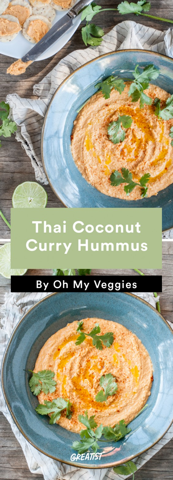 Better Dips: Coconut Curry Hummus