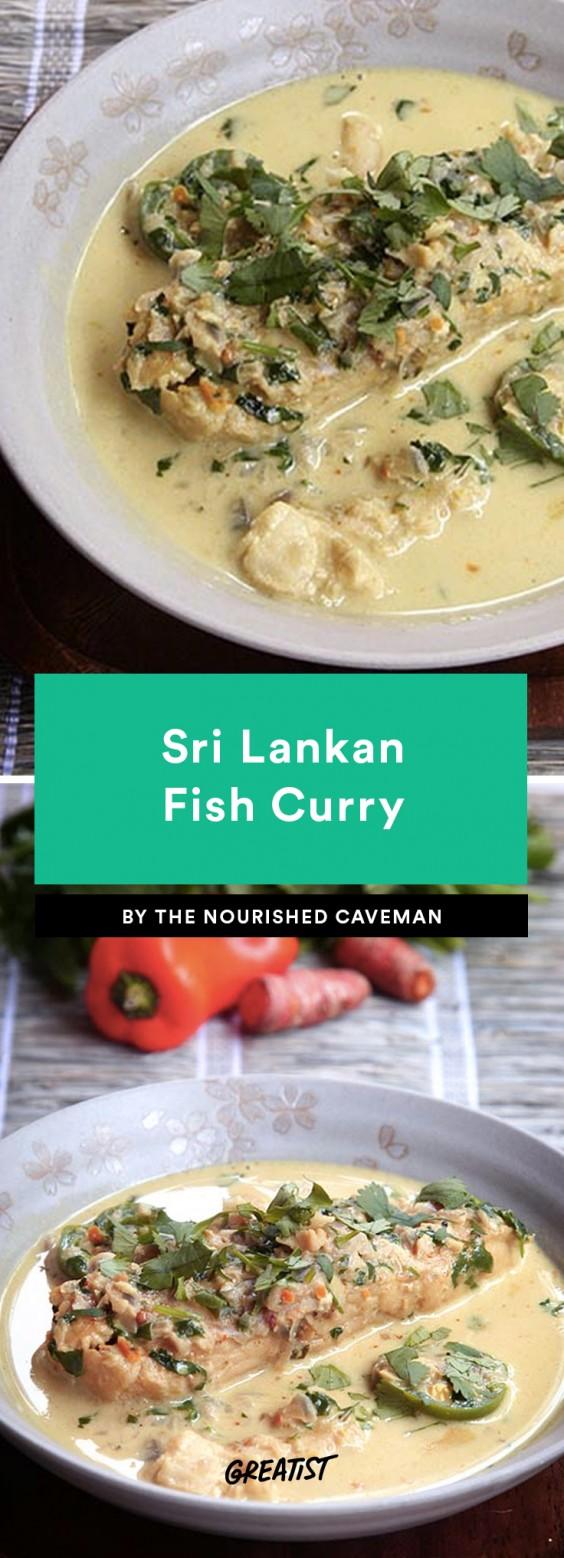 Sri Lankan Fish Curry