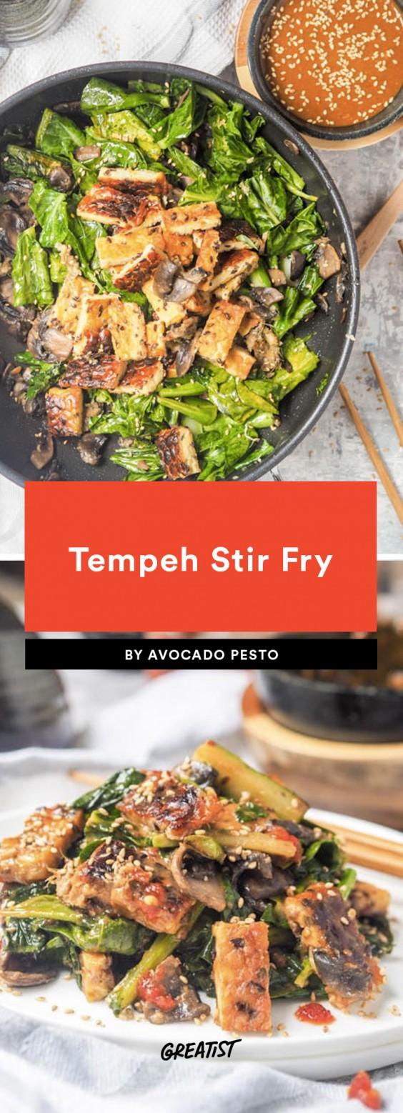 tempeh stir fry