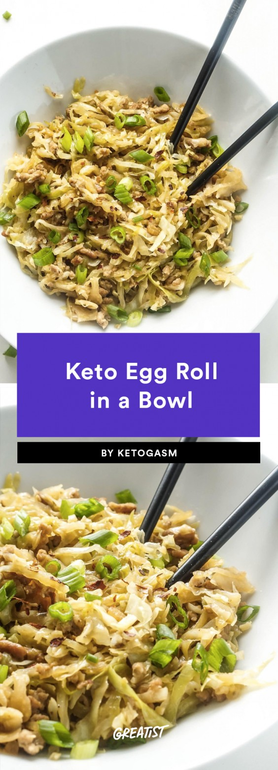 Simple Eggroll In A Bowl