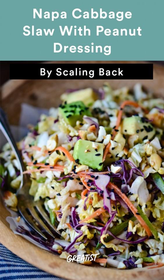 no mayo coleslaw: Napa Cabbage Slaw