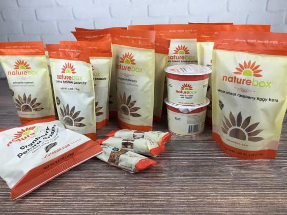 Subscription Box Healthy Snacks: Naturebox