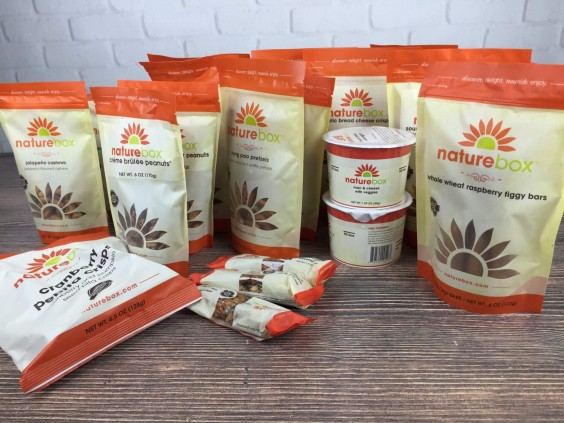 Subscription Box Healthy Snacks: Naturebox