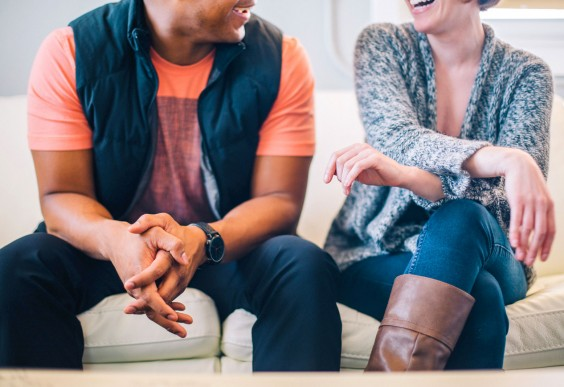 Increase Creativity: Friends Laughing Together