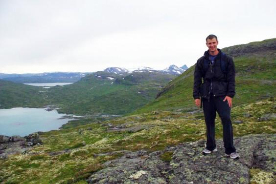 NIck Eckhart Hiking