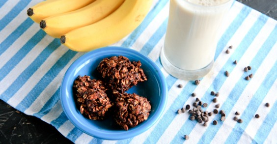 Banana No-Bake Cookies