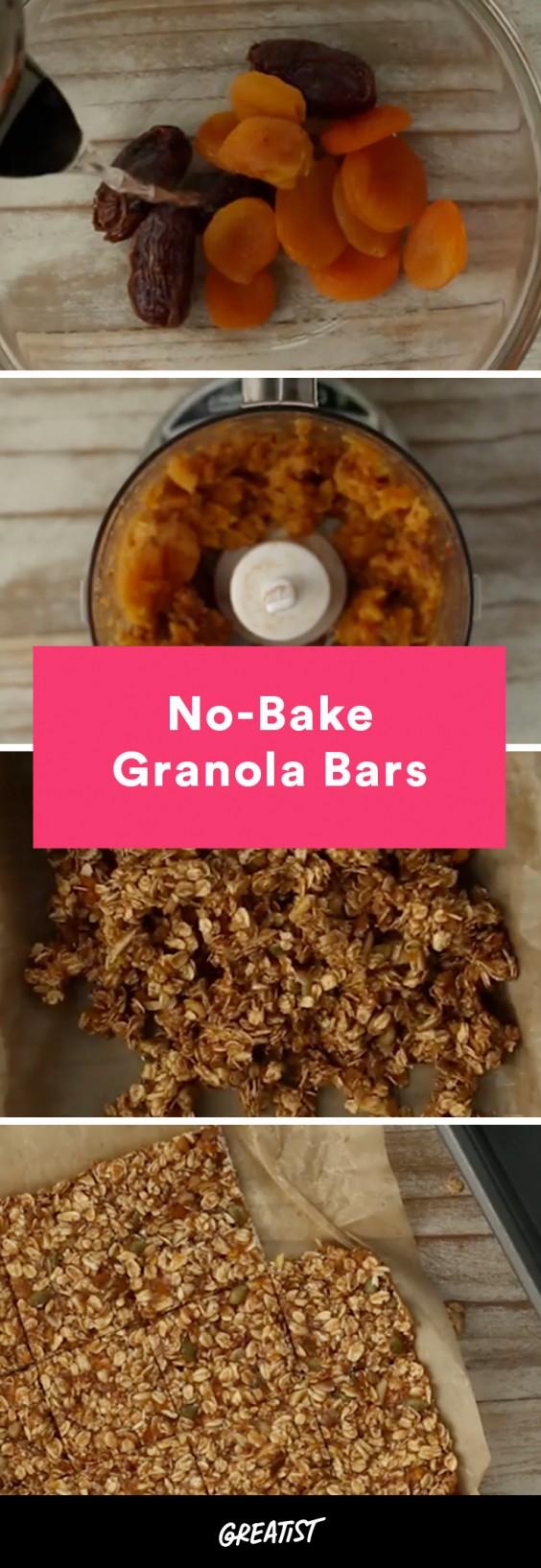 video: no-bake granola bars