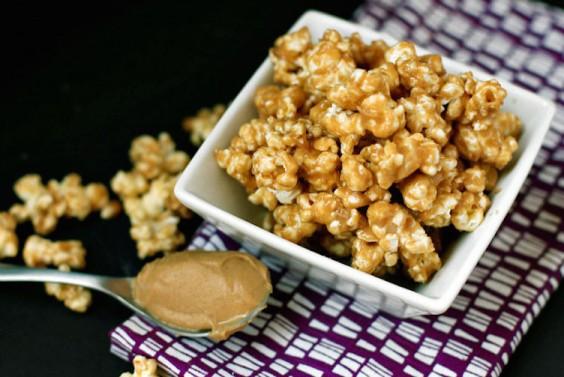 No-Bake Peanut Butter Popcorn