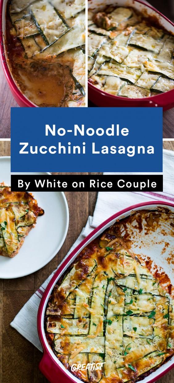 Zucchini Carbs: Lasagna