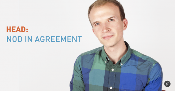 8 Body Language Hacks: Nod in Agreement