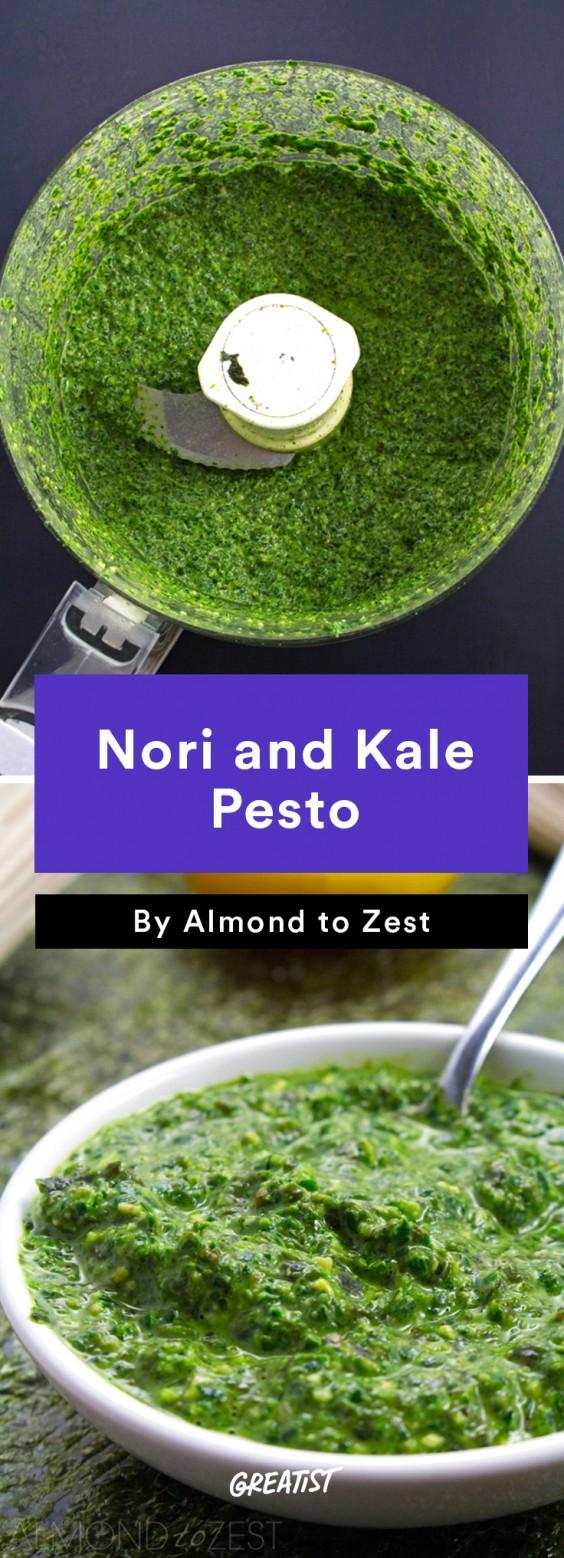 Nori and Kale Pesto