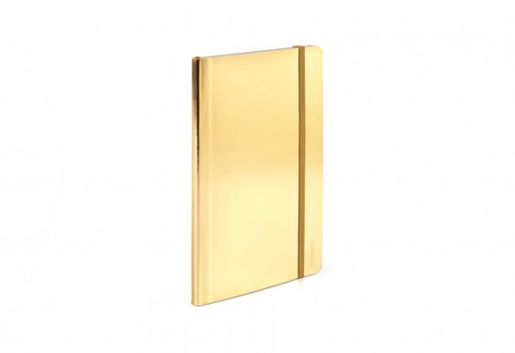 Poppin Metallic Notebook