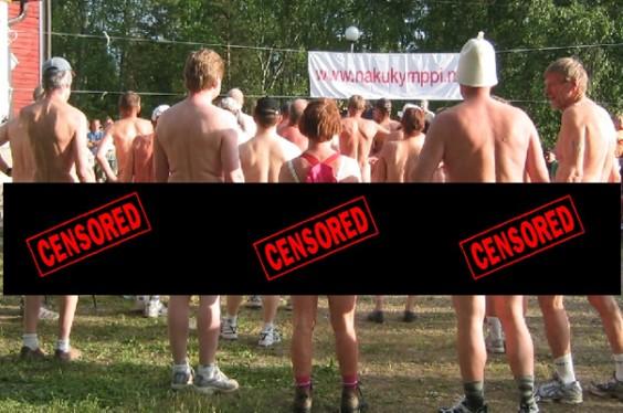 Nude run