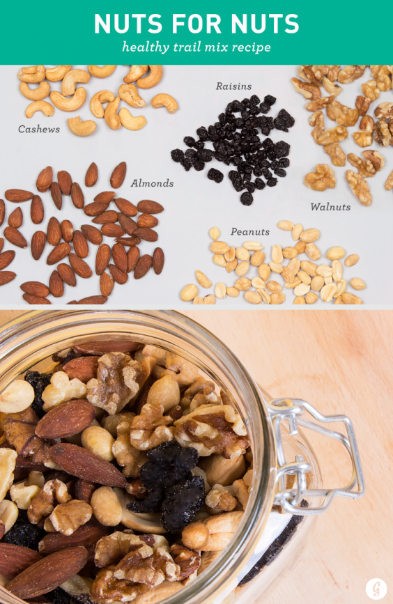 Healthy Trail Mix: Nuts for Nuts