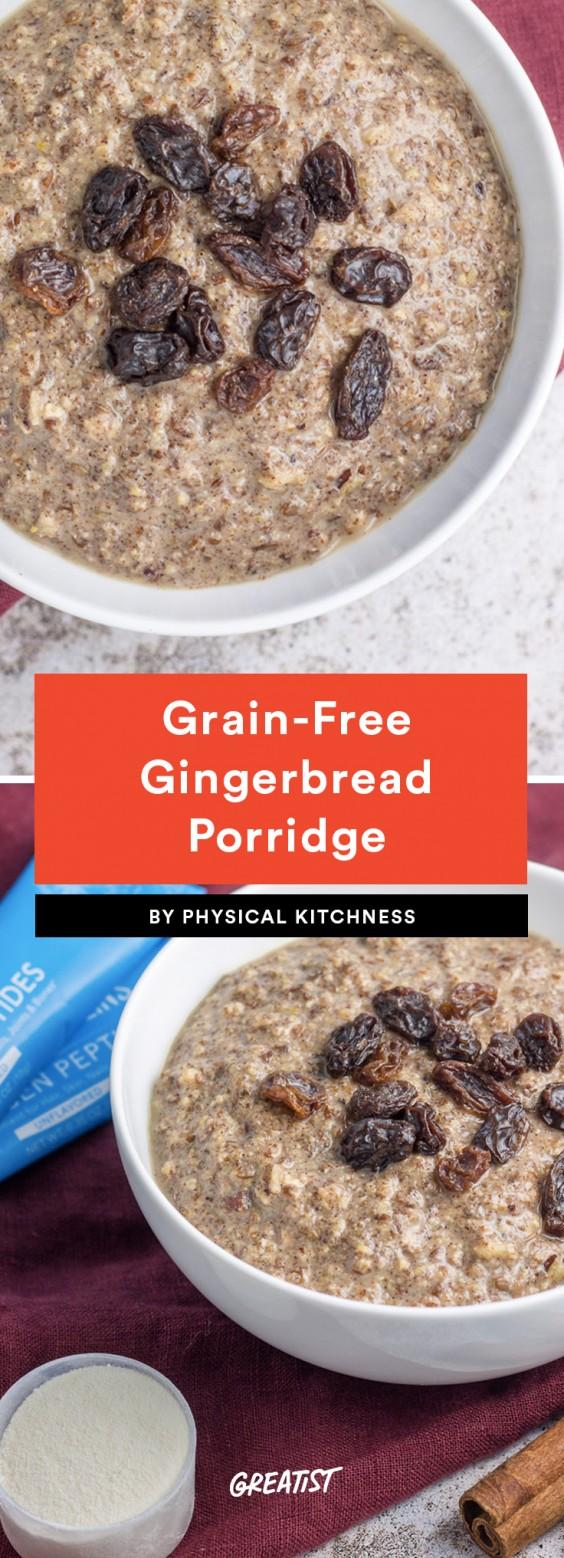 Gingerbread Porridge