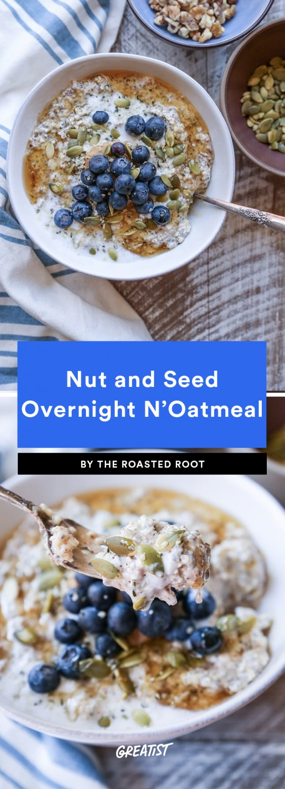 Nuts and Seeds Overnight N'Oatmeal