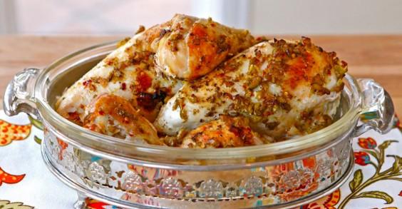 Mediterranean Olive Chicken