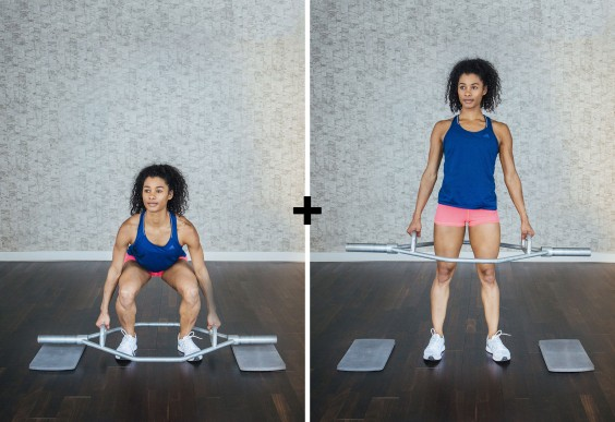 basic olympic lifts: hexbar deadlift