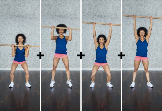 basic olympic lifts: push press