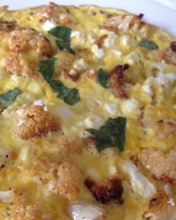 Cauliflower Omelette
