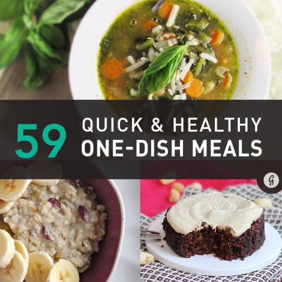 59 Healthy, One-Pot Meals
