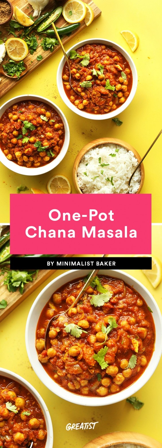 One-Pot Chana Masala