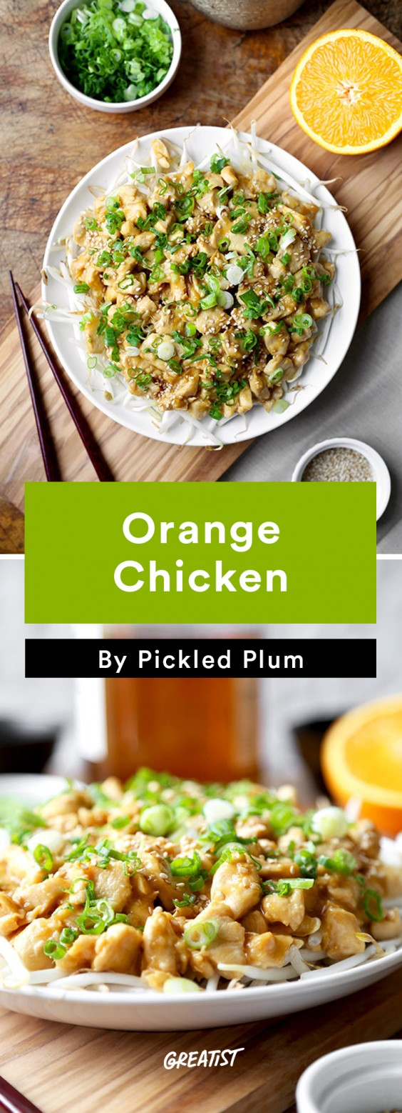 Pickled Plum: Orange Chicken