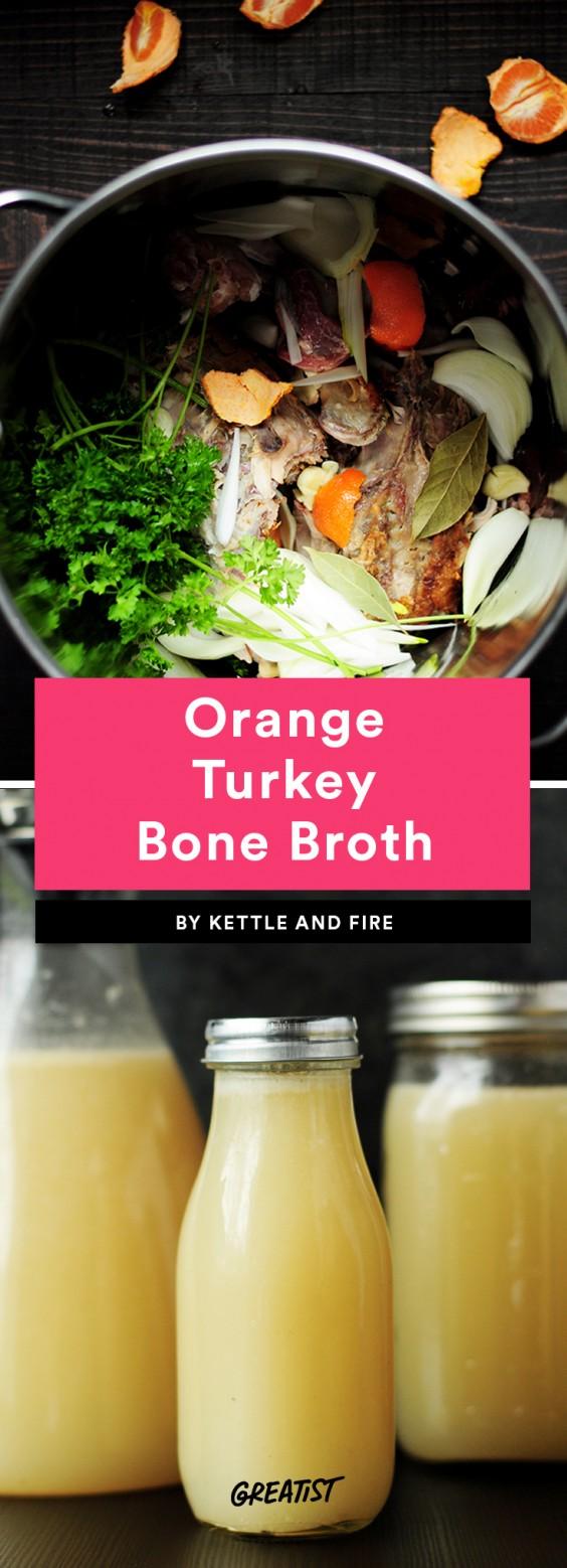 Orange Turkey Bone Broth