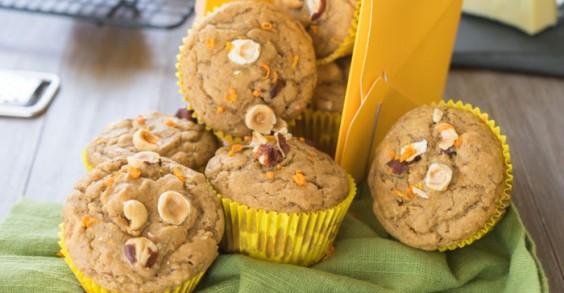 Orange Hazelnut Muffins