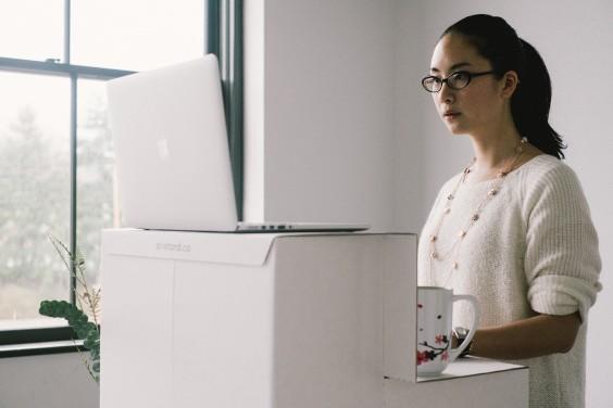 Oristand The Cheap Standing Desk Greatist