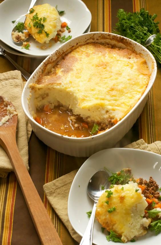Paleo Dinners: Shepherd's Pie With Cauliflower
