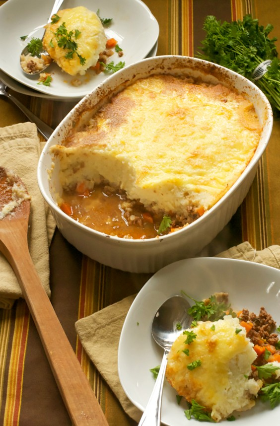 Paleo Dinners: Shepherd's Pie With Cauliflower