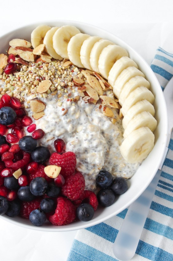 Cooking For Two: Vanilla Overnight Oats Breakfast Bowl Recipe