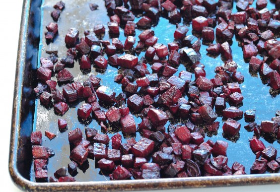 40. Coconut Oil Roasted Beets