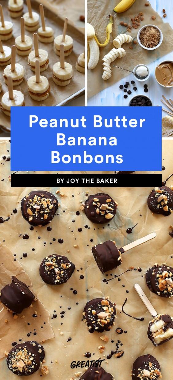 Peanut Butter Banana Bonbons Recipe