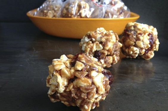 Easy Peanut Butter Popcorn Balls