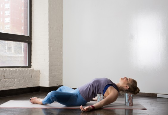 Supported Fish Pose