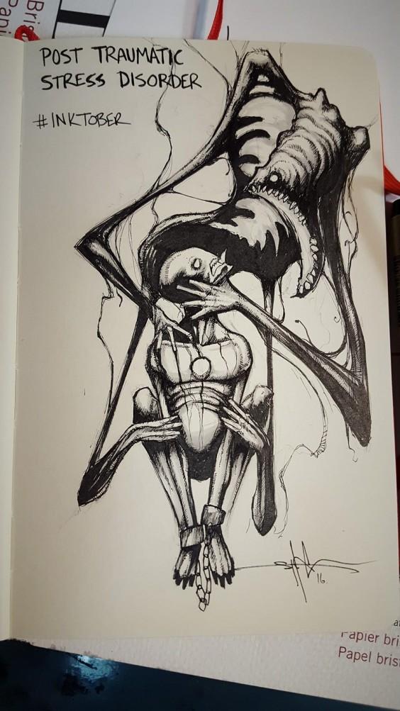 ptsd illustration