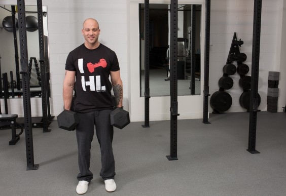 Upper Body Moves When You Can't Do A Pull-Up - Dumbbell Holds