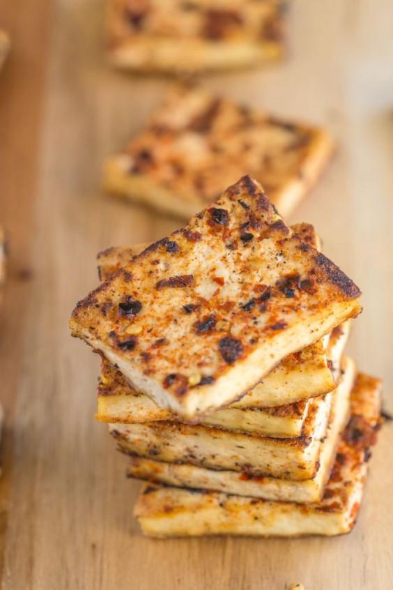 Tofu Recipes: Pan-Seared Tandoori Tofu