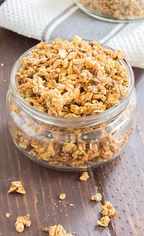 Homemade Granola Recipes: Pear Granola