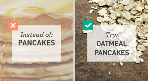 Simple Swaps for Lower Carbs: Almond Flour Pancakes