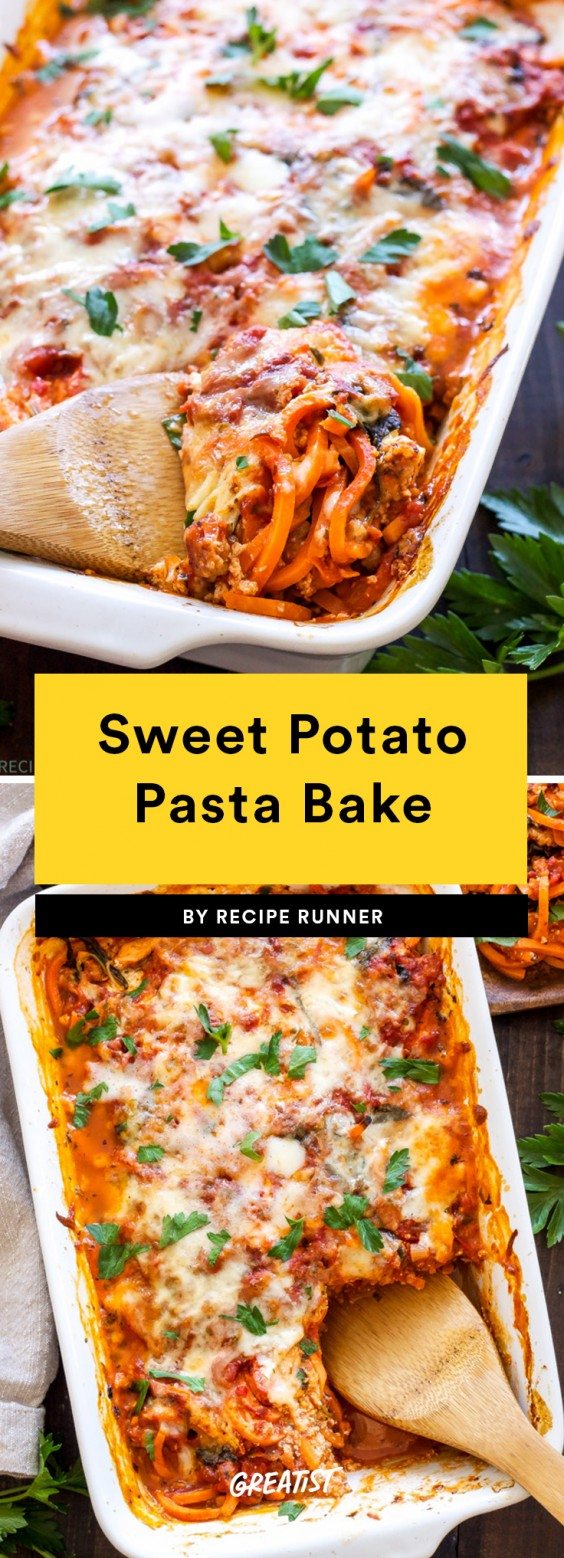 Sweet Potato Pasta Bake