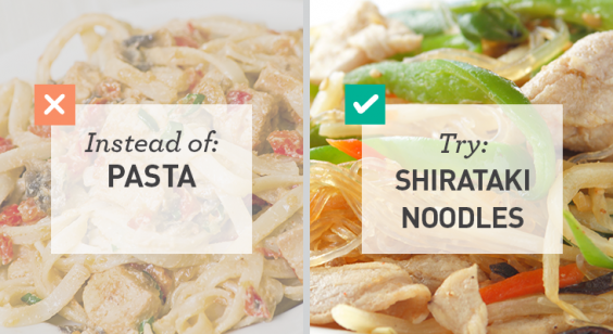 Lower Carb Alternative For Pasta Shiritaki Noodles