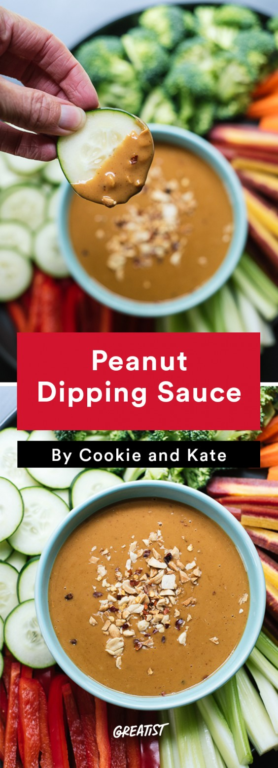 cookie and kate game day: Peanut Dipping Sauce