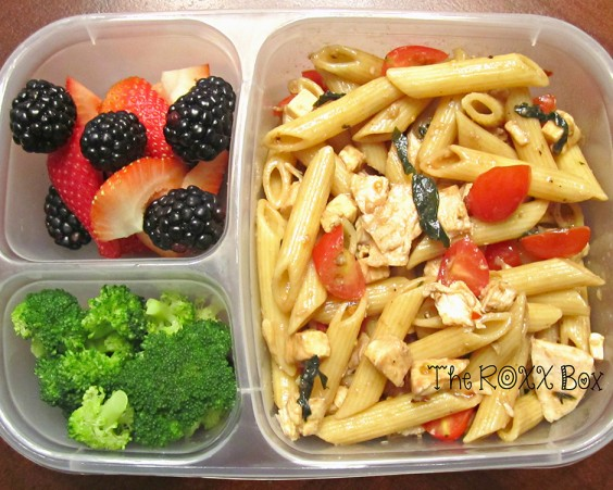 Caprese Pasta Salad With Grilled Chicken