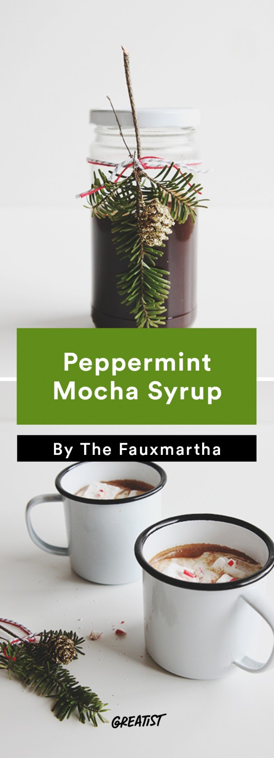 edible gifts: Peppermint Mocha Syrup